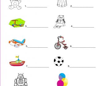 Toys Spelling