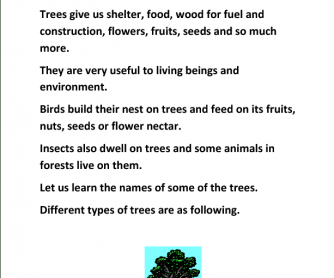 Know Our Trees