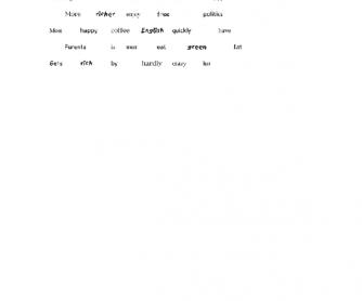 Making Sentences Game