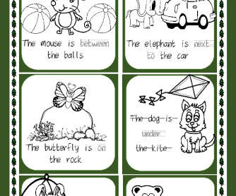 Where is the Animal? (Prepositions of Place)