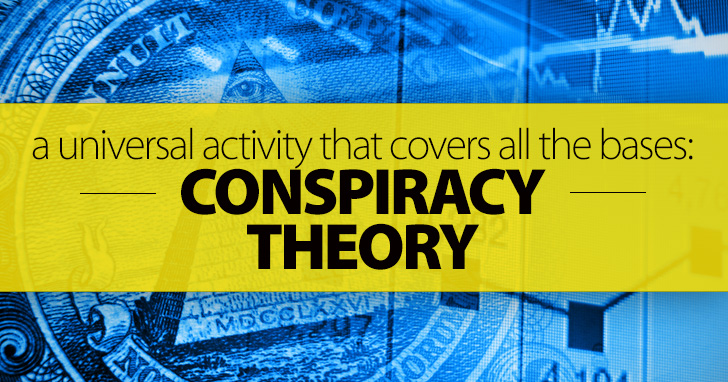 Conspiracy Theory - A Universal Activity That Covers All The Bases: Creativity, Fluency and Grammar Practice