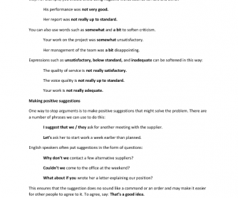 Business English for Meetings - Unit 4 Useful Phrases