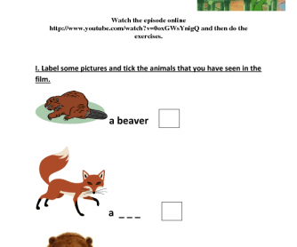 Movie Worksheet: Franklin's Bad Day