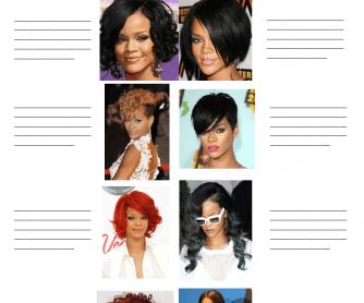 Describing People's Hair