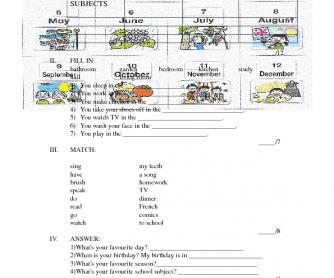 Test Grade 4