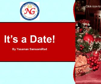 It's a Date- PowerPoint