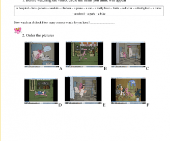 Movie Worksheet: Pink Panther - The Pink Pill