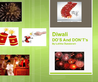 Diwali Do's and Dont's