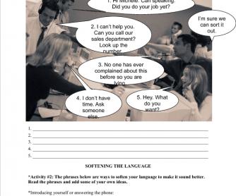 Customer Service (Softening the Language)