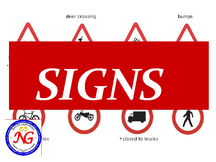 15 Free Signs And Notices Worksheets