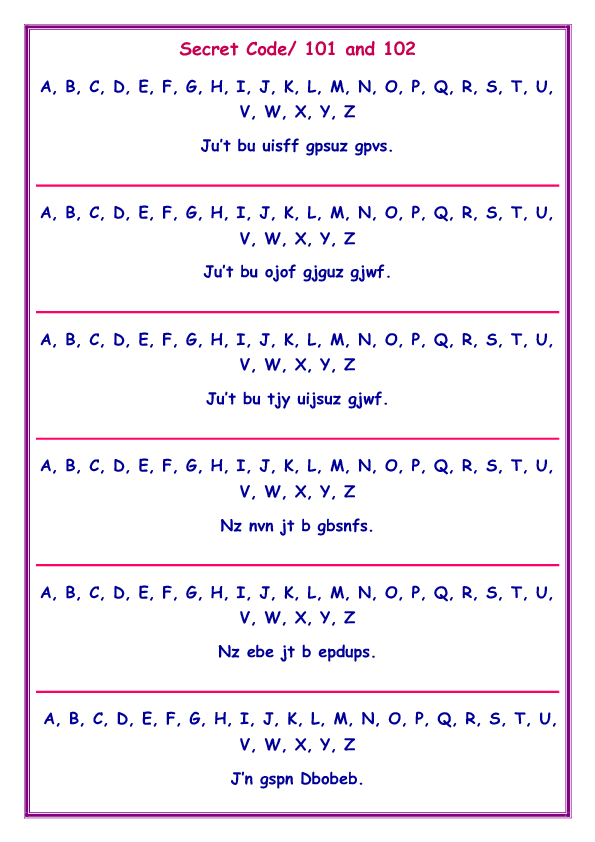 Game: Secret Code