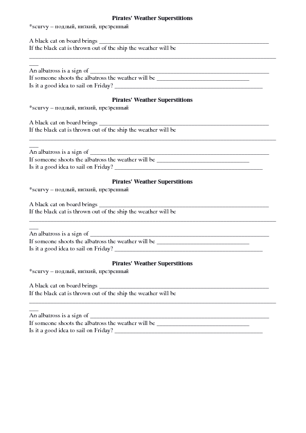 superstitions worksheets superstitions worksheets