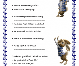 Movie Worksheet: Hop