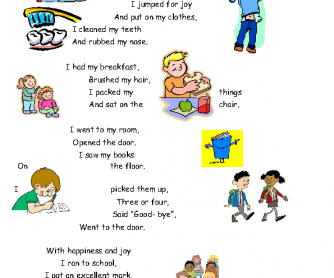 Grammar & Vocabulary Worksheet: I Had Fun Yesterday (Daily Routines & Past Simple)