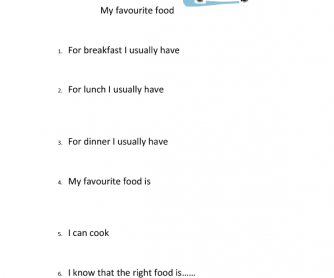 essay on my favourite dish favourite food esl kids worksheets my home rsaquo essay on my favourite dish favourite food