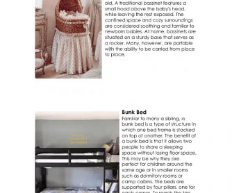 Interior Design - Types of Beds