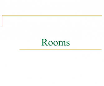 Rooms PPT