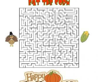 Help the Turkey Eat the Corn