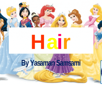 Different Types of Hair (Disney)