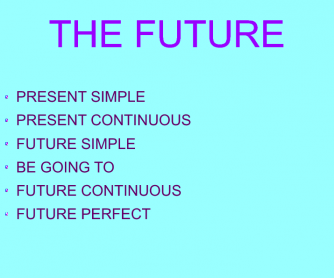 The Future Theory