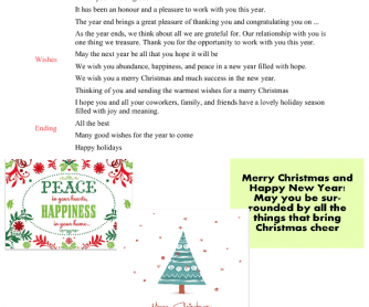 What to Write in a Christmas Postcard
