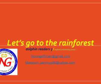 Let's Go to the Rainforest (Story)