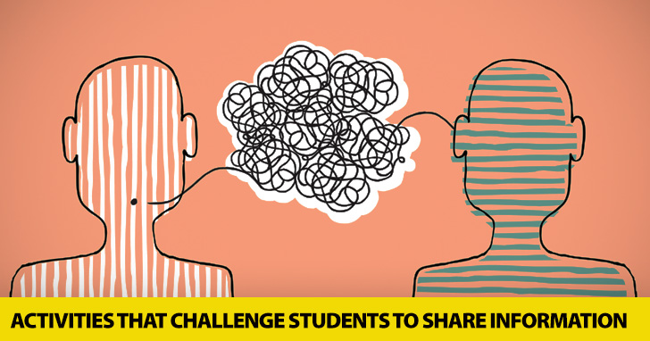 I Know Something You Don't: 3 Simple Activities That Challenge Students To Share Information