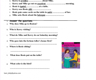 Story Book Worksheet : Good Day, Bad Day (Part 1)