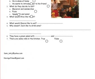 Movie Worksheet: English Today