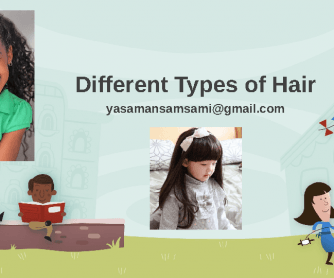 Different Types of Hair, Order of Adjectives