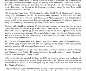 Frank Sinatra - Biography