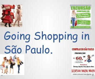 Shopping Streets in São Paulo