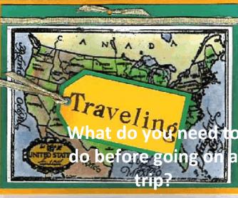 Vocabulary: Travel Preparations