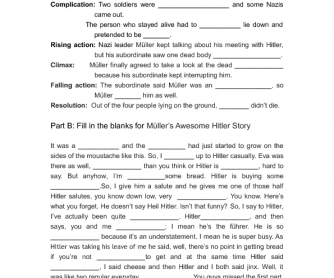 Movie Worksheet: The Awesome Hitler Story