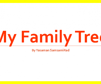 Family Tree, PowerPoint