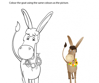 Year of the Goat - Copy and Colour