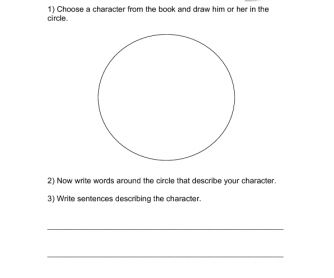 Reading Worksheet - Rio Blu and Friends
