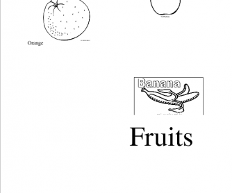 Colouring Fruit