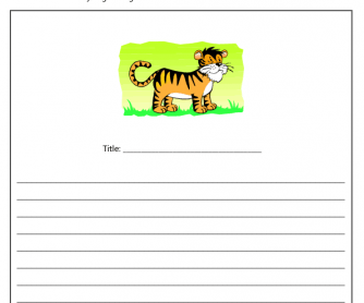 Creative Writing Exercise - Chinese New Year (Year of the Tiger)