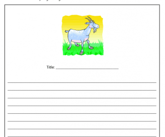Creative Writing Exercise - Chinese New Year (Year of the Goat)