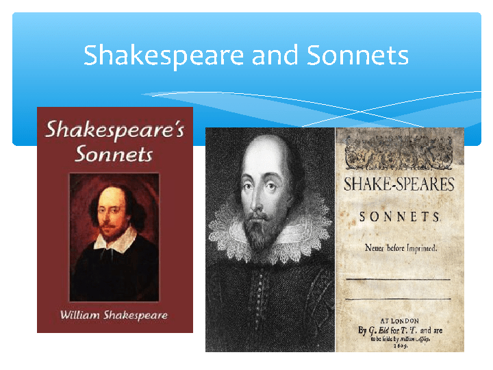 how to understand shakespeare sonnets