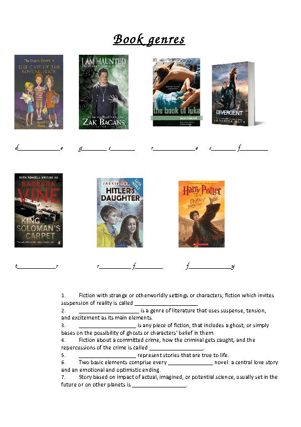 Book Genres