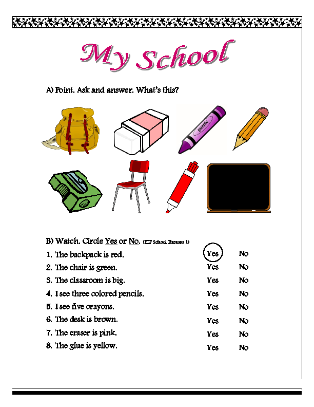 261 FREE Back to School Activities Worksheets – Vocabulary Worksheets Middle School