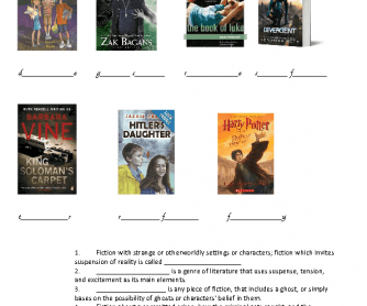 Book (Literary) Genres
