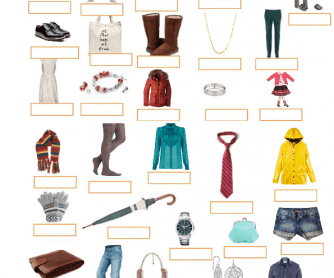 Clothes and Complements (KET List)