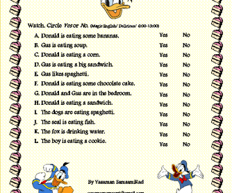 Movie Worksheet: Magic English/ Delicious