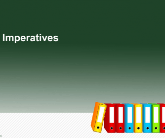 Imperatives Formation