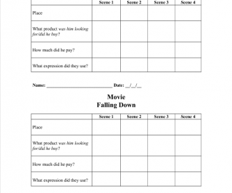 Movie Worksheet: Falling Down