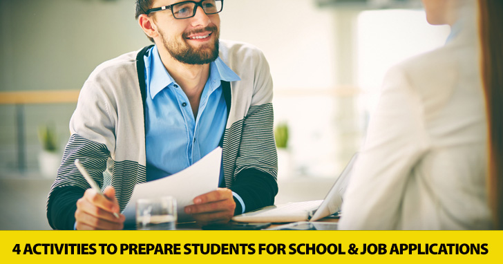 You're Hired! 4 Activities to Prepare Students for School and Job Applications