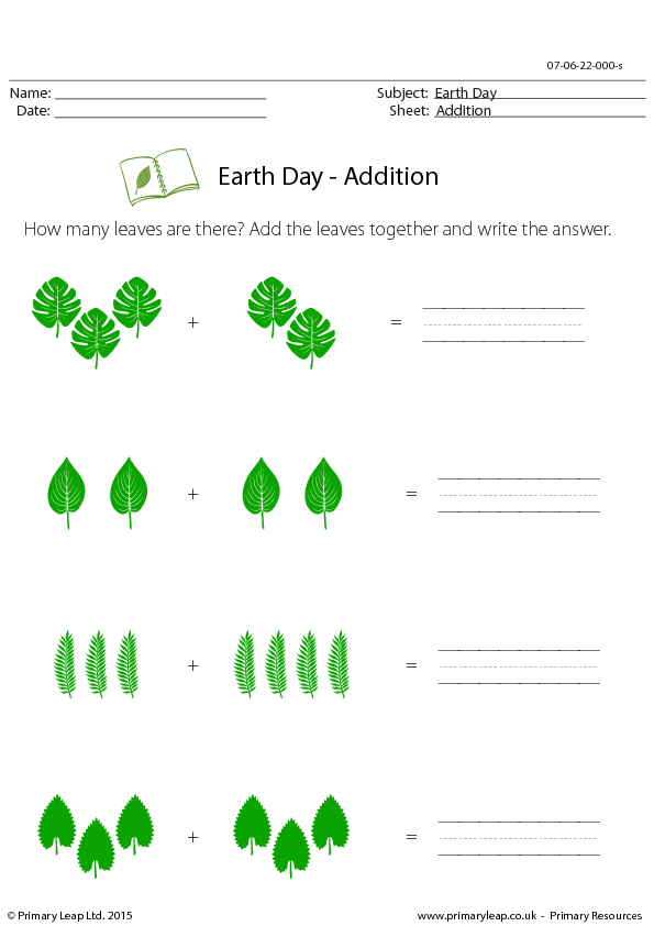 Printables Esl Math Worksheets 106 free math worksheets teach with confidence earth day addition